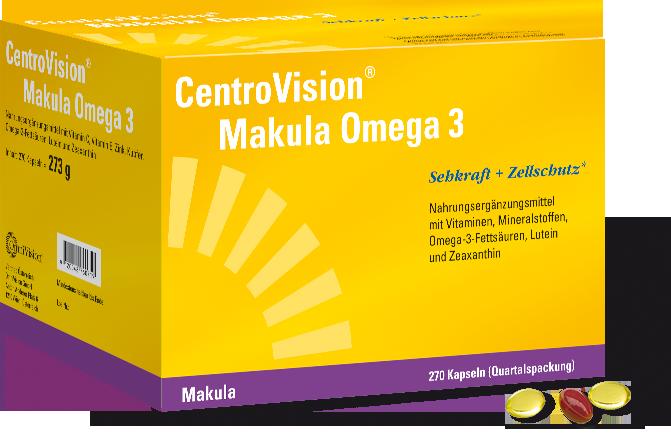 CentroVisionu00ae Makula Omega 3 - 270 Stu00fcck